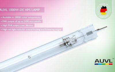AUVL 1000W DE HPS Lampe