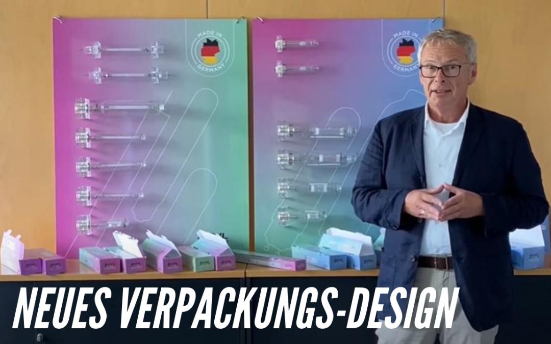 Neues Verpackungsdesign