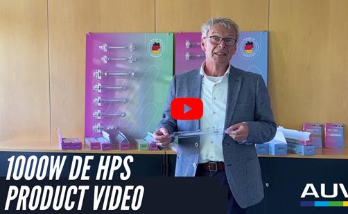 Nuevo vídeo: Construcción de lámparas HPS de 1000W DE