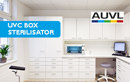 Surface disinfection with the new UVC Box Sterilizator