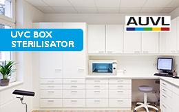 Desinfección de superficies con la nueva AUVL caja de esterilización UVC