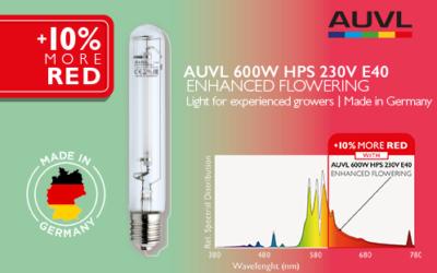 Die neue Lampe für die Blüte – 600W HPS Enhanced Flowering